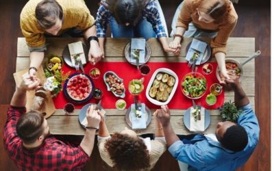 Finding Joy Around the Table (New Post at The Glorious Table)